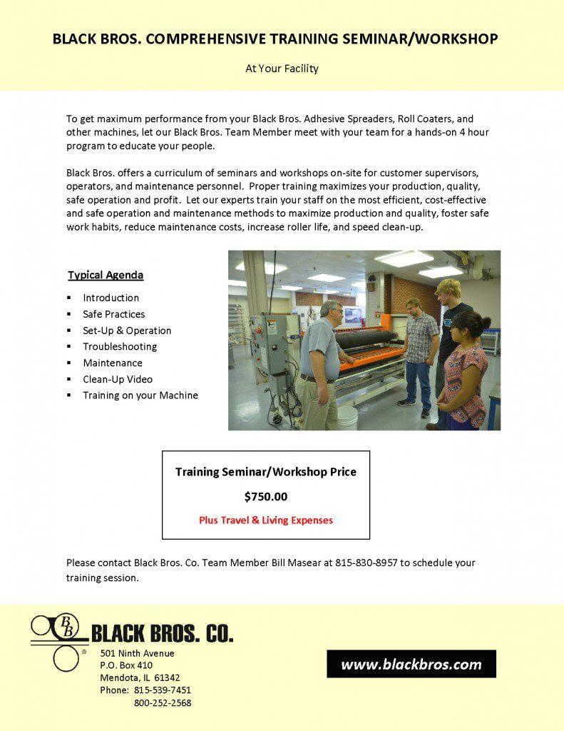 BBCO Comprehensive Training Seminar-Workshop 2015