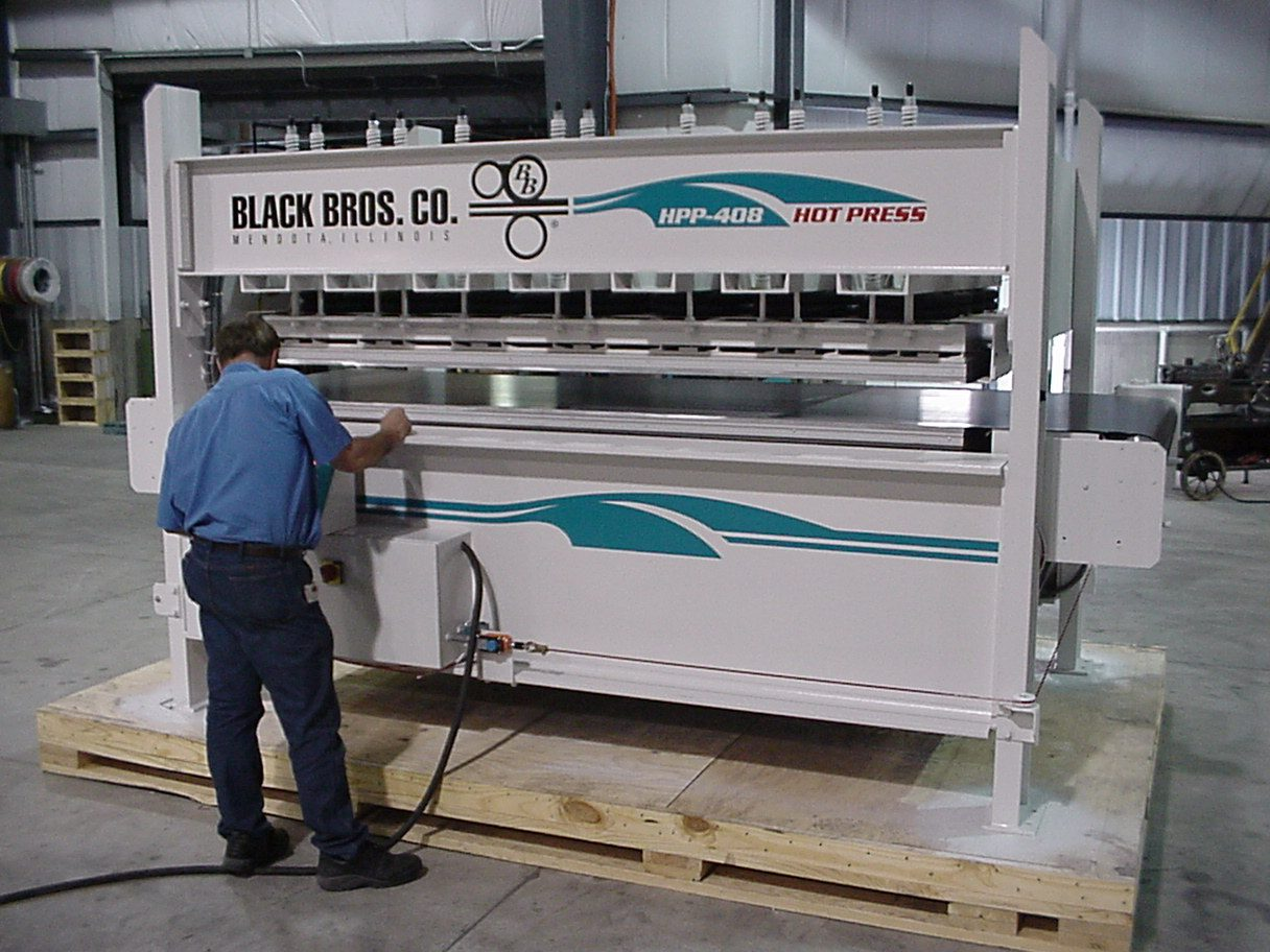 Hot Pneumatic Press Machine Suppliers Black Bros