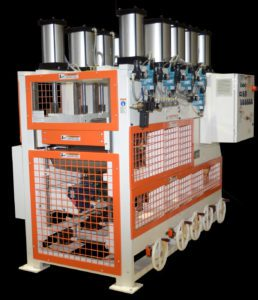 Multi Roll Rotary Pneumatic Press